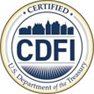 Certified CDFI US Department of Treasury